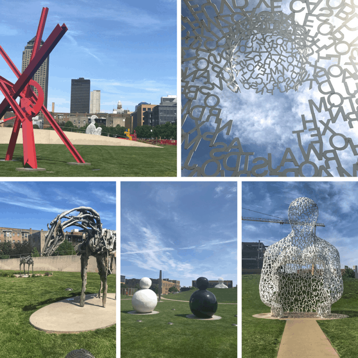 John and Mary PappaJohn Sculpture Park in Des Moines Iowa