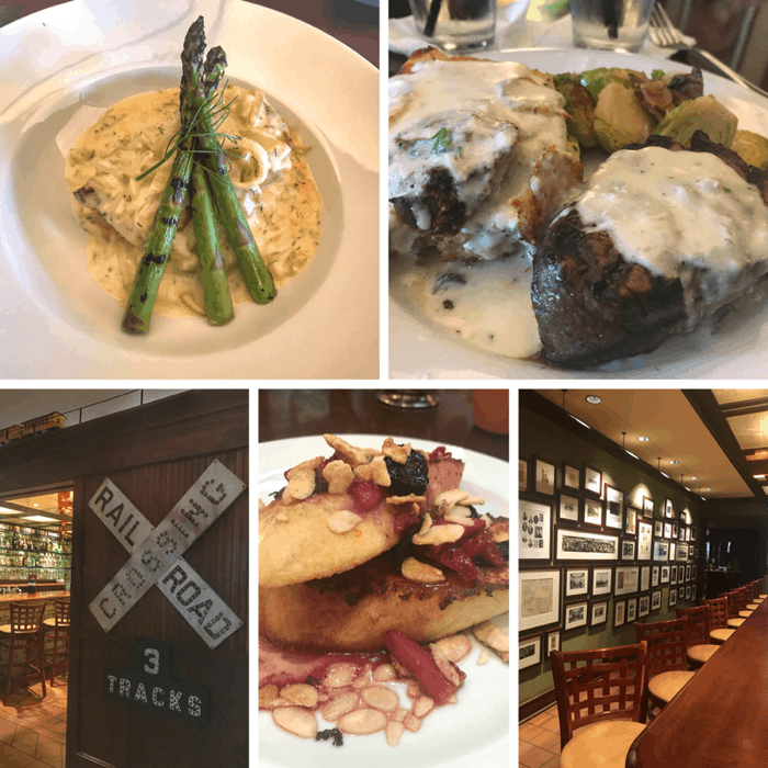 meals at Hotel Pattee in Iowa