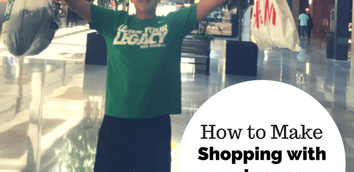How to Make Shopping With Your Teenager More Enjoyable
