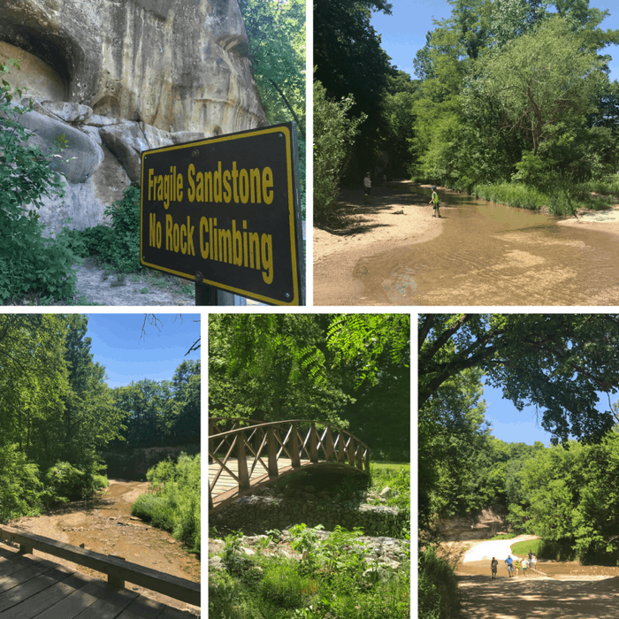 Ledges State Park in Iowa