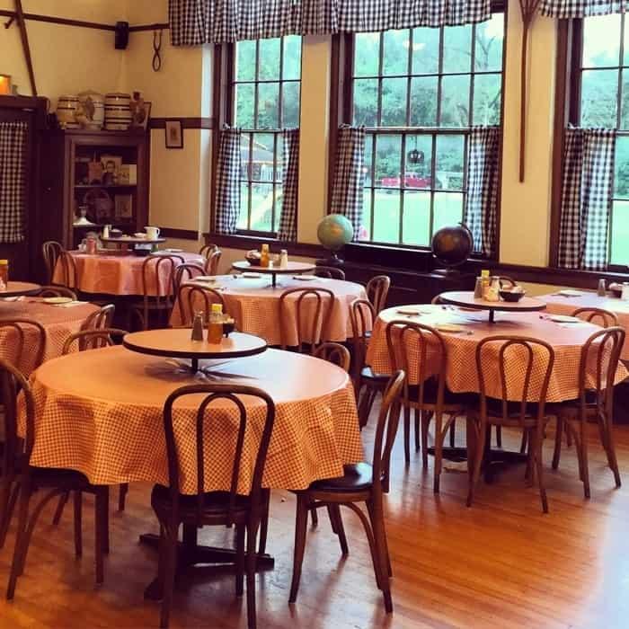 dining area insideThe Schoolhouse Restaurant