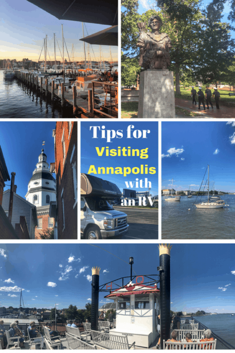 Tips for visiting Annapolis with an RV