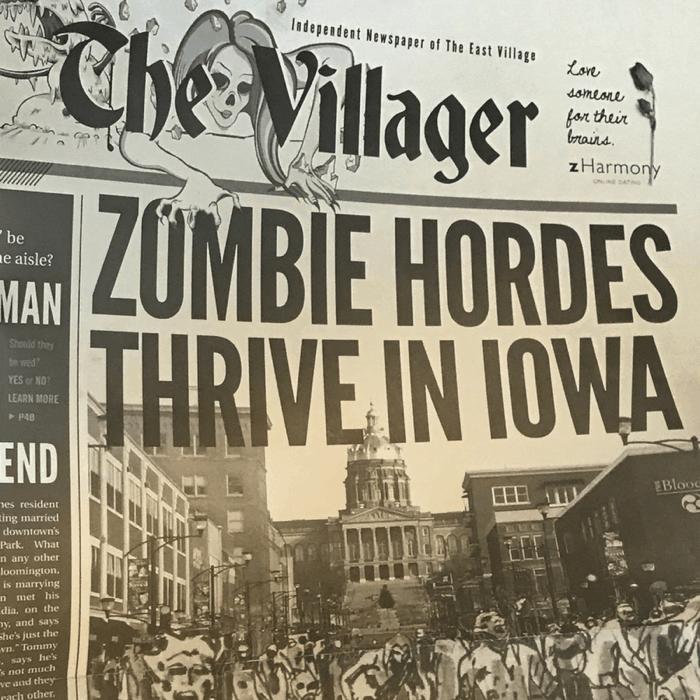 Zombie Burger + Drink Lab Des Moines Iowa
