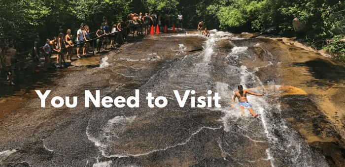 The Natural Waterslide in North Carolina You Need to Visit