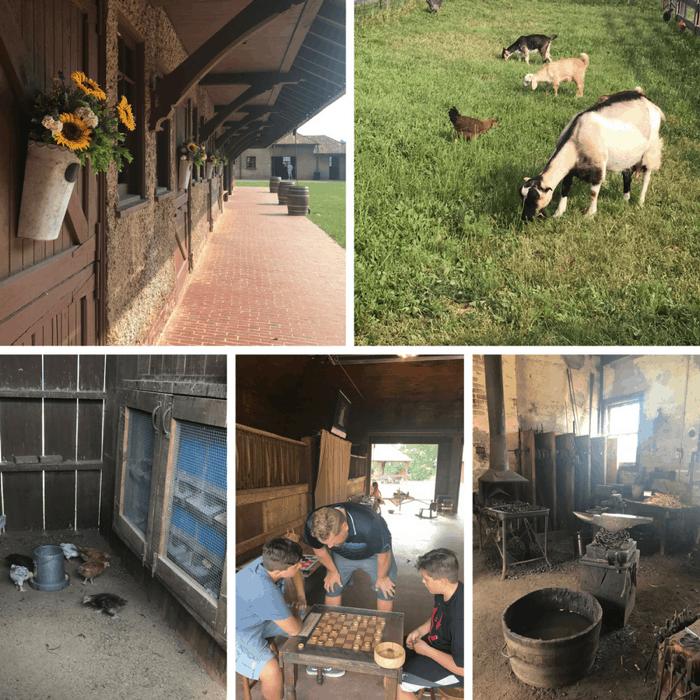 Antler Hill Barn at The Biltmore Estate in Asheville NC