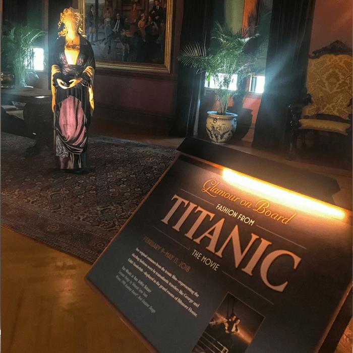 Titanic exhibit at the Biltmore