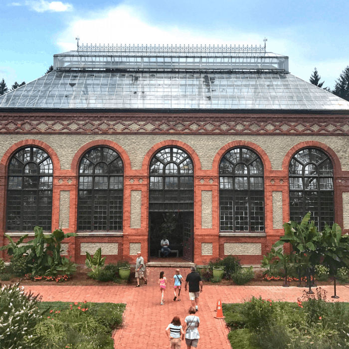 greenhouse at the Biltmore Estate in Asheville North Carolina