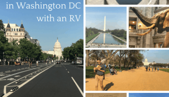 How to Spend One Day in Washington DC with an RV