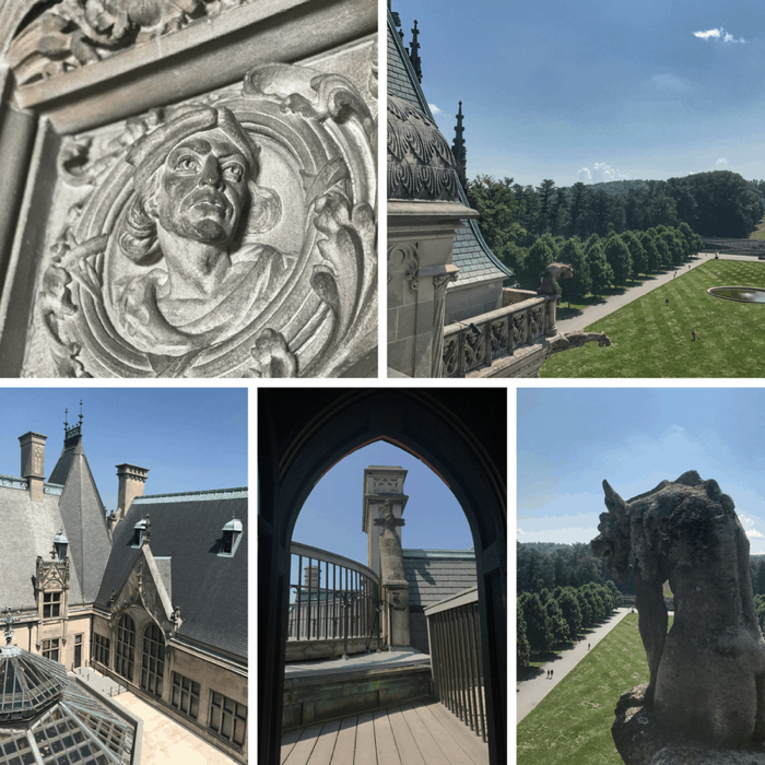 rooftop tour at The Biltmore Estate