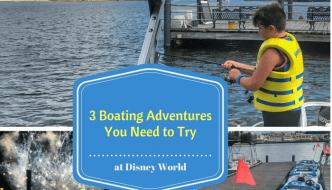 3 Boating Adventures You Need to Try at Disney World