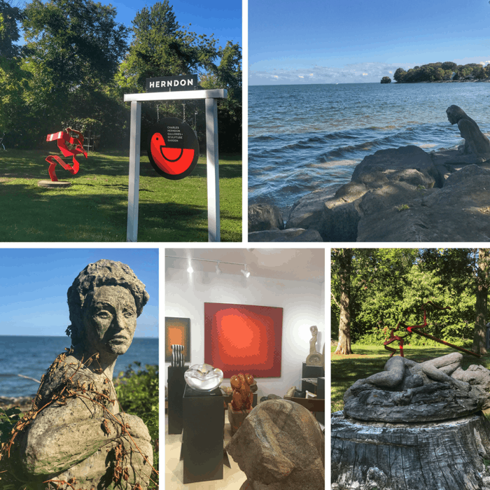 Charles Herndon Galleries and Sculpture Garden on Kelleys Island