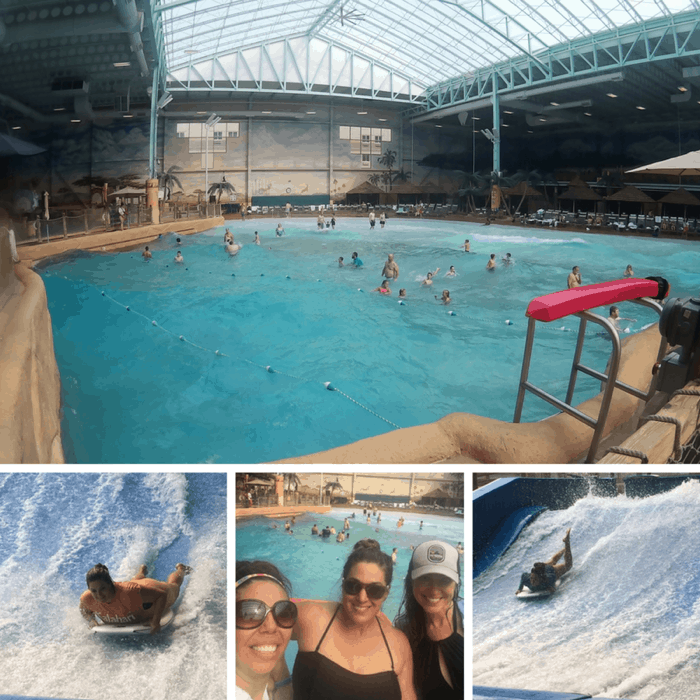 Relax and Play at Kalahari Indoor Waterpark
