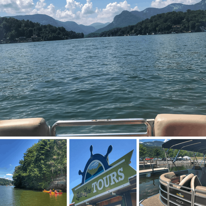 Lake Lure pontoon Tour
