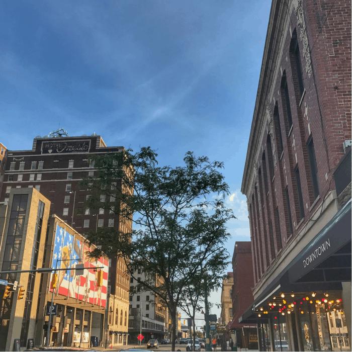 Downtown Canton Ohio