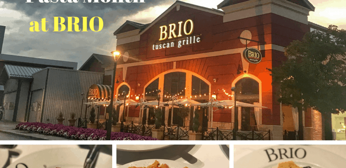 Delicious Reasons to Celebrate #NationalPastaMonth at BRIO