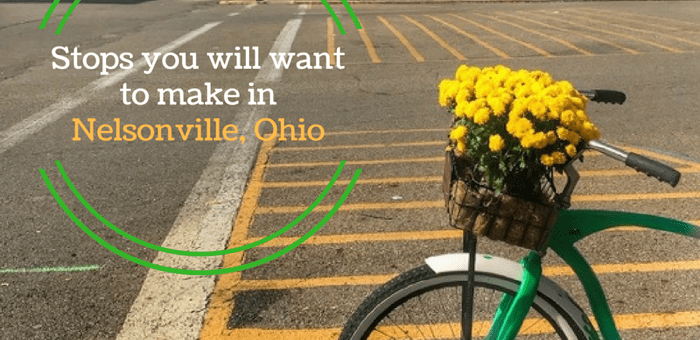 Stops you will want to make in Nelsonville Ohio