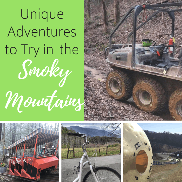 Unique Smoky Mountains Adventures