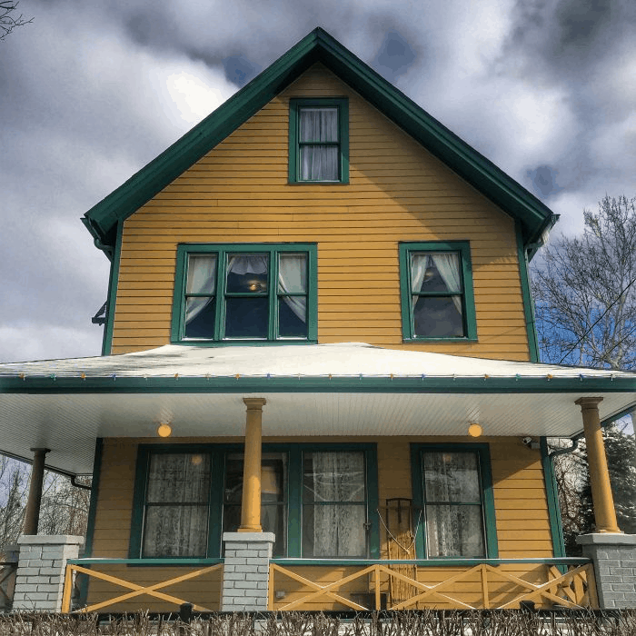 A Christmas Story House in Cleveland Ohio