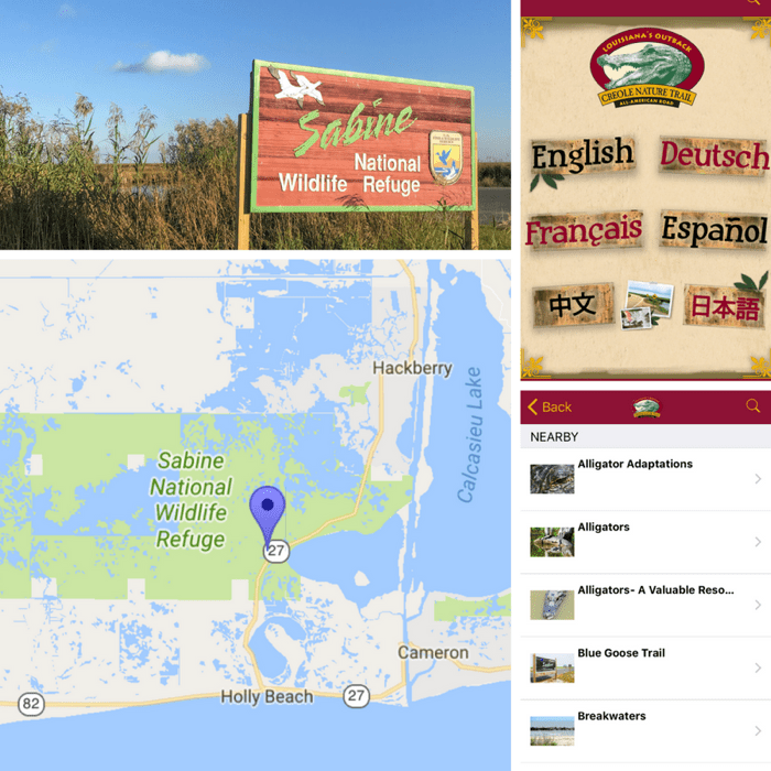 Creole Nature Trail in Lake Charles