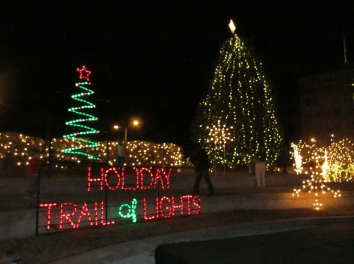 Holiday Trail of Lights in  Louisiana