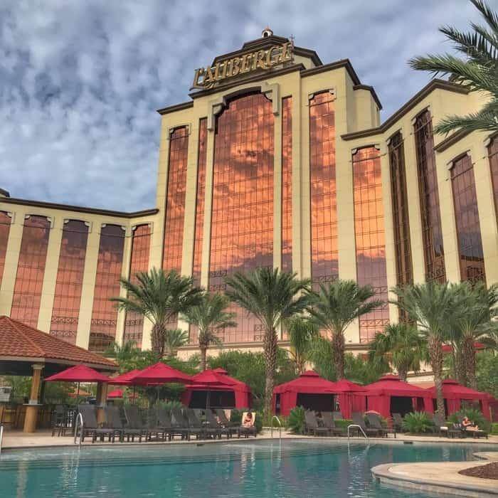 pool at L'Auberge Casino Resortn in Lake Charles