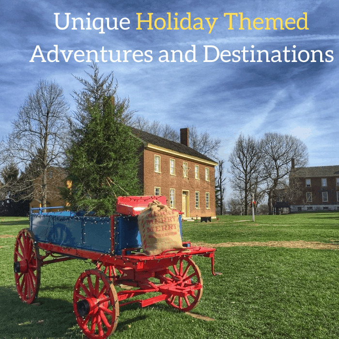 Unique Holiday Themed Adventures and Destinations