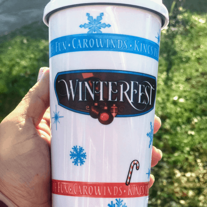 WinterFest hot chocolate souvenir cup