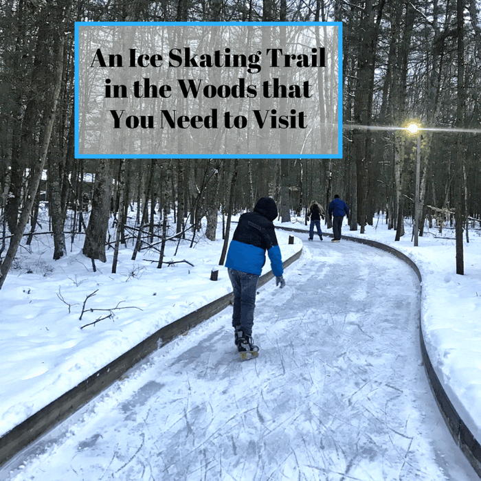 An Ice Skating Trail in the Woods That You Need to Visit in West Michigan
