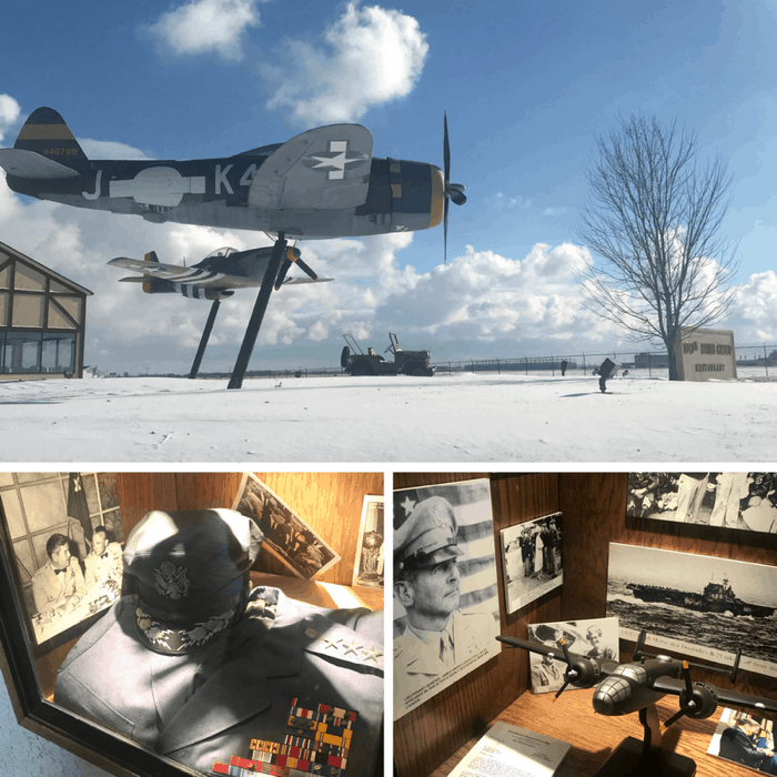 Brunch with history and a view at the 100th Bomb Group Restaurant