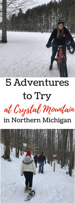 5 Adventures to try at Crystal Mountain Resort in Northern Michigan