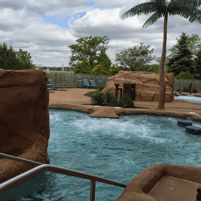 Adults-only hot tub at Kalahari Resort in Sandusky, OH