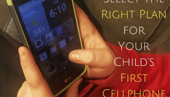 How to Select the Right Plan for Your Child's First Cellphone ~Giveaway