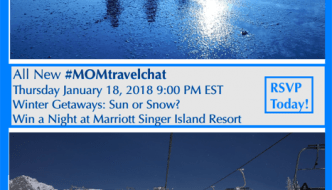 Join Me For #MomTravelChat Twitter Party January 18th – Winter Getaway Ideas