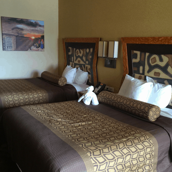 Room options at Kalahari Resort in Sandusky, OH