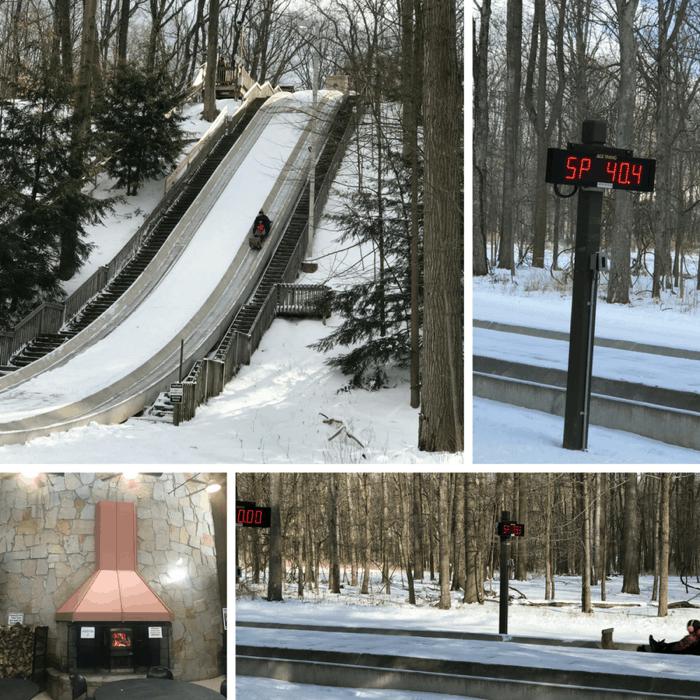 Tobogganing Cleveland Metro Parks