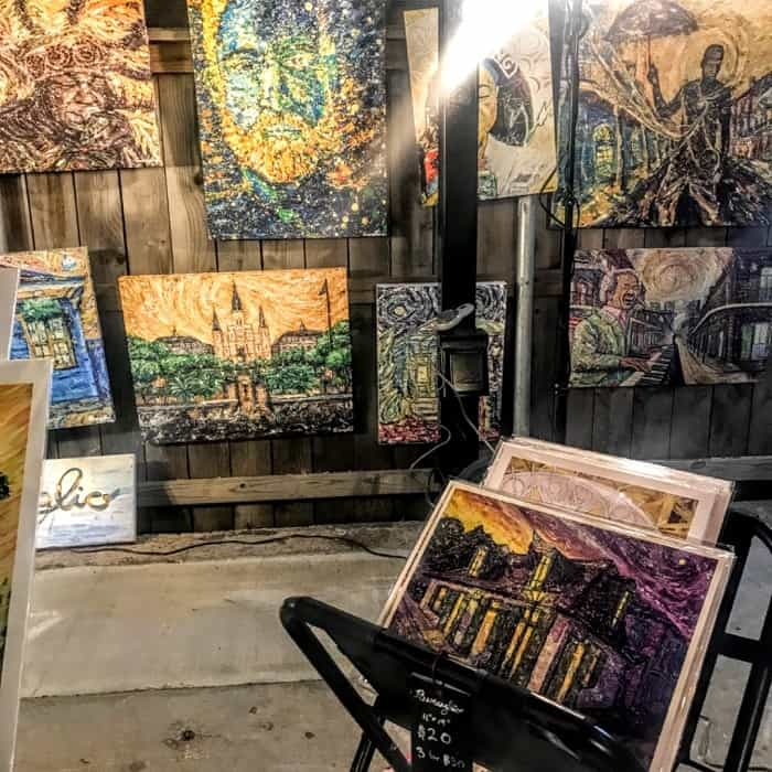 Frenchmen Street Art Market in New Orleans
