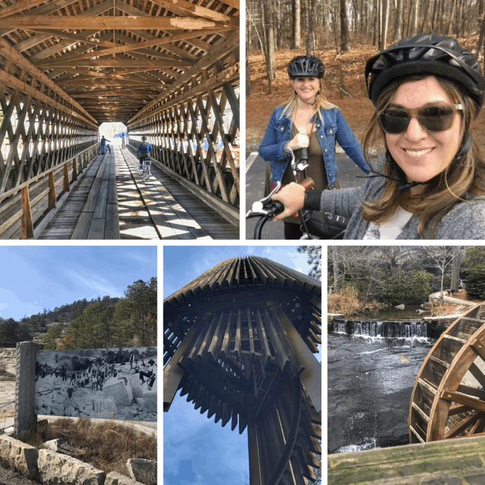 guided e-bike tour in Georgia