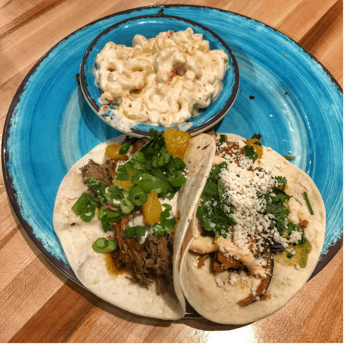 tacos at Crafted: Art of Taco in Greensboro NC
