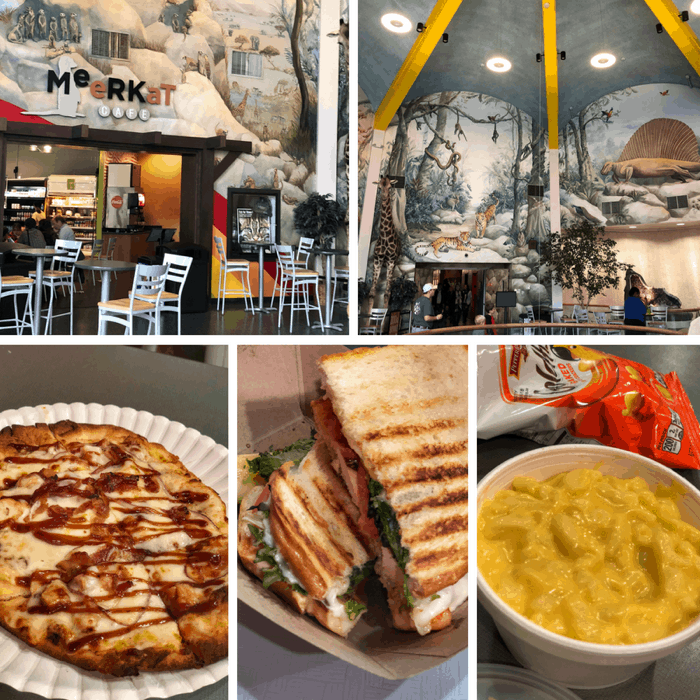 dining options at Greensboro Science Center