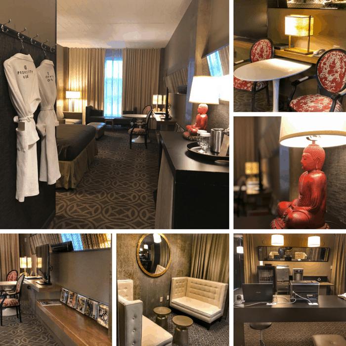 Proximity Hotel Room Greensboro NC