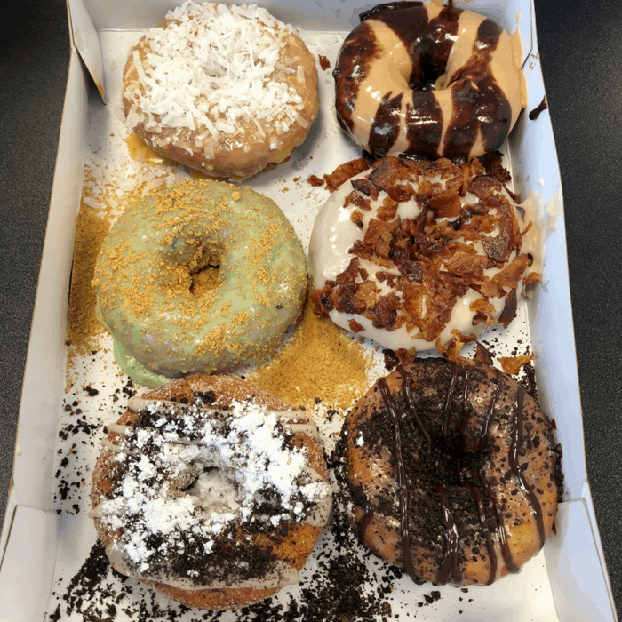 Sweet Treats from Duck Donuts in Wilmington, North Carolina