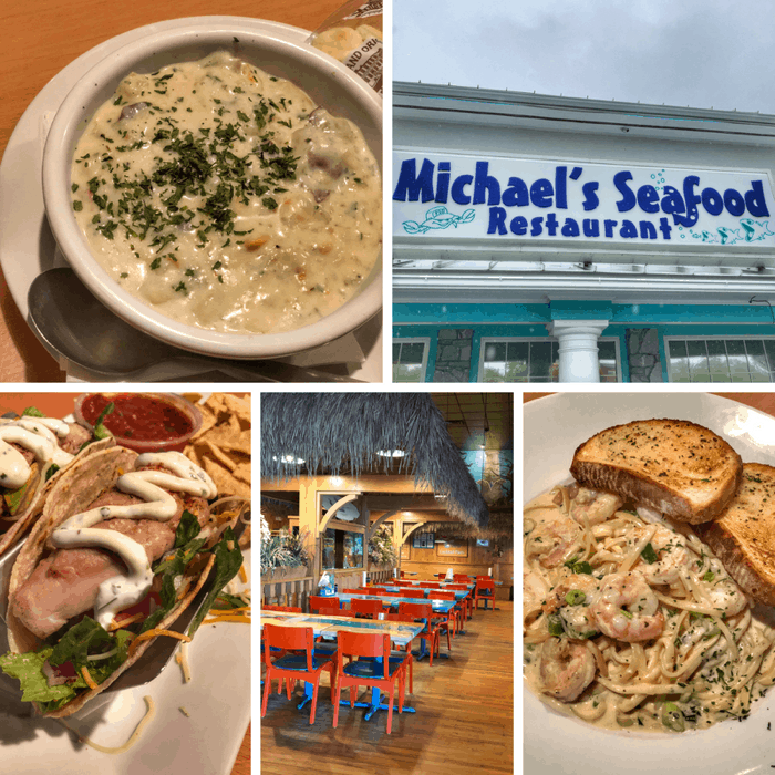 Michael's Seafood in Wilmington, North Carolina
