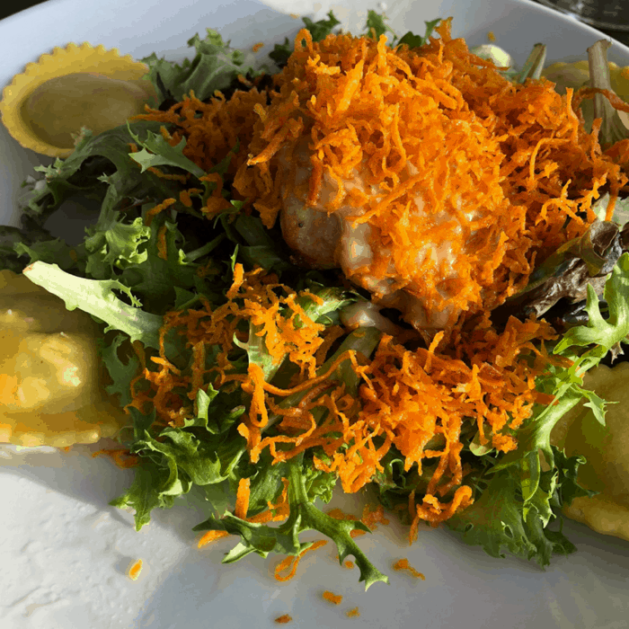 The Sweet Potato Grouper at The Pilot House in Wilmington, North Carolina