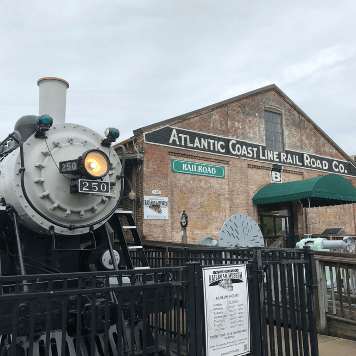 Railroad Museum in Wilmington, North Carolina