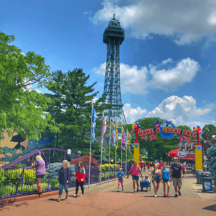 Kings Island Amusement Park in Cincinnati Ohio
