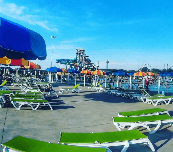 soak city waterpark at Kings Island