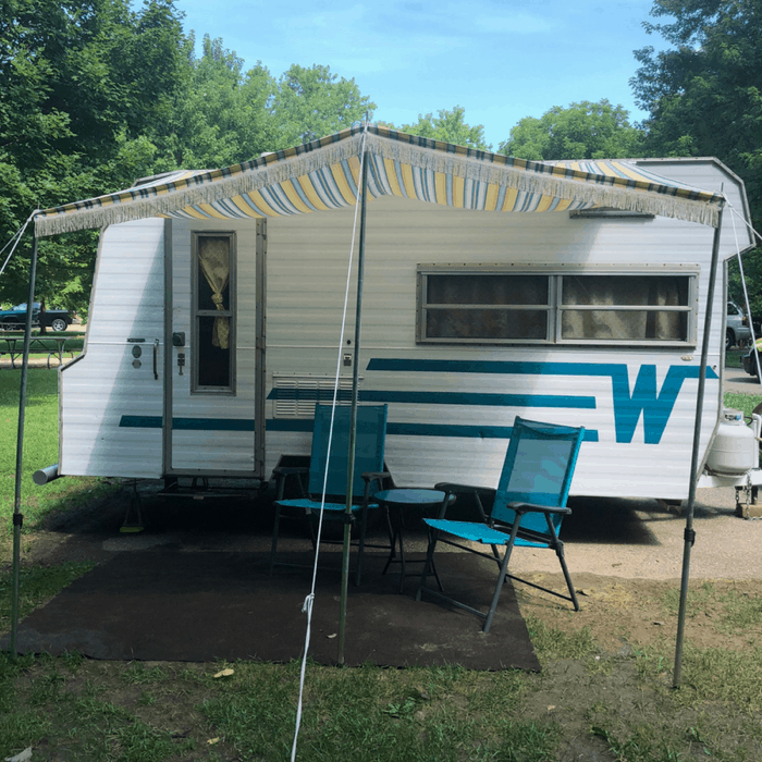 rent a vintage Winnebago with Route Fifty Campers