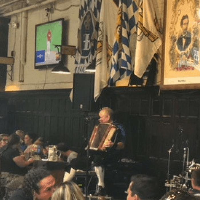 Live polka music at Hofbrauhaus Newport