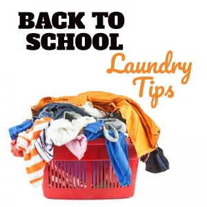 Back to School Laundry Tips