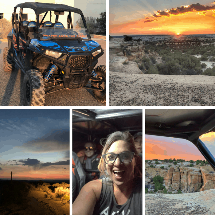 Off-Road with a UTV Rental at Glade Run Recreational Park in New Mexico